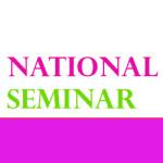 National Seminar on April: RGU