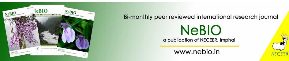 NeBIO – an international peer reviewed bi-monthly journal published by North East Centre for Environmental Education and Research