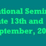 UGC sponsored National Seminar