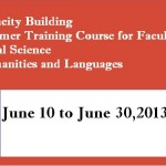 Programme and Summer Training