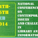 National Conference – Feb -2014