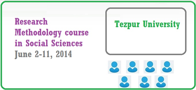 Research Methodology course in Social Sciences, 2014
