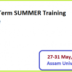 Short Term SUMMER Training Course