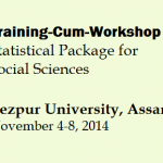 Training-Cum-Workshop on Statistical Package for Social Sciences  – TU