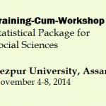 Training-Cum-Workshop on Statistical Package for Social Sciences  – TU