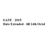 Graduate Aptitude Test in Engineering 2015