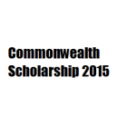 Notification on Commonwealth Scholarship/ Fellowship-2015 – UK
