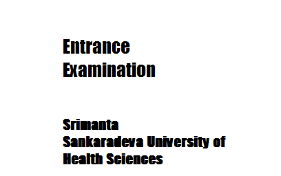 Entrance Examination for Admission to the P.G. Courses in MD (Ayur) 2014-15 session new
