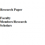 "Research Papers for the Research Journal ""Tropical Zoology"""