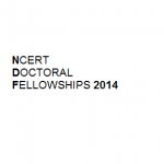 Ncert Doctoral Fellowship 2014