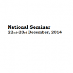 National Seminar : 22 and 23 December 2014