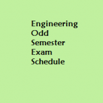 Engineering odd Semester Examination ,Assam Engineering College  2014