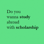Abroad Scholarship 2015 – 16 : J N Tata Endowment