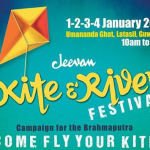 Jeevan Kite and  River Festival 2015