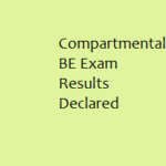 Compartmental BE seven semester results declared  : Gauhati University