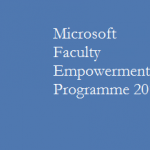 Microsoft Faculty Empowerment Programme 2015 Assam University