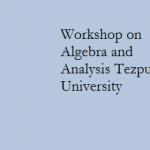 Workshop on Algebra and Analysis Tezpur University