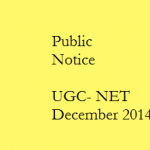 Public Notice on UGC NET 2014 Answer Keys and Recorded Images