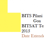 Apply for BITSAT-2015 is extended