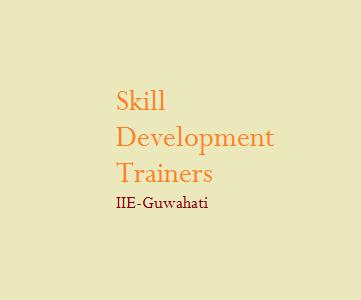 IIE Guwahati Seeks Skill Development Trainees In Assam