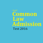 CLAT Common Law Admission Test 2016