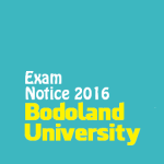 Exam Notification for Graduate and  Postgraduate Students, Bodoland University