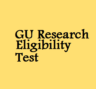 Eligibility for phd