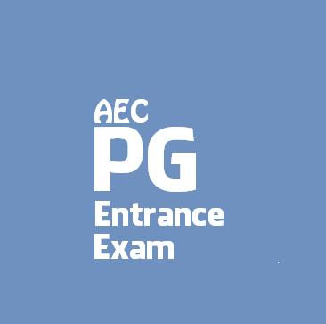 AEC PG Entrance Examination 2016 | Assam engineering College