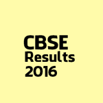 CBSE XII Results 2016 will be announced after few hours