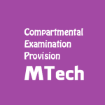 Compartmental Examination Provision | M.Tech In Petroleum Exploration and Production Program | Dibrugarh University
