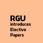 Rajiv Gandhi University introduces open elective paper under CSE Department