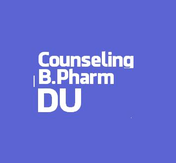 Dibrugarh University B. Pharm 1st Semester Counseling 2016