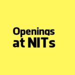 MHRD recruits Director for 12 NITs