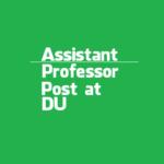 Dibrugarh University invites Assistant Professor   Department of History