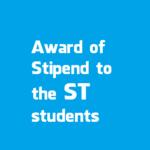 Award of Stipend to the ST students 2018 | Arunachal Pradesh