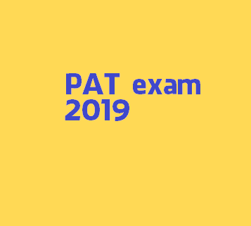 Examination notification PAT 2019 Assam